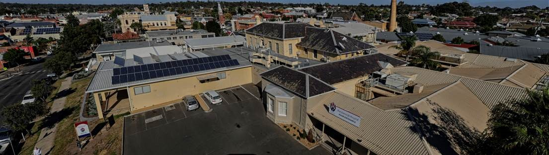 Large Scale Maryborough Hospital Job Completed Cola Solar