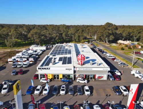 Mitsubishi & Renault Bendigo join the Cola Solar family!